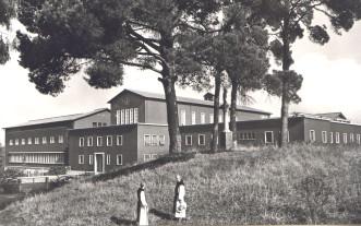 Monte Cistello, maison des étudiants et du Généralat