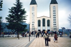 Medjugorje (durant le stage romain)
