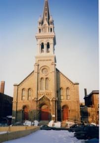 Curé à Sainte-Brigide (1982-1991)