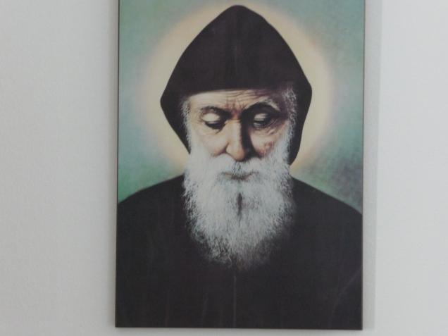 Saint Charbel, patron de mon ermitage