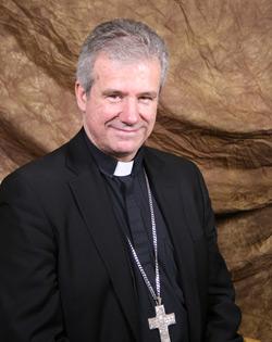 Mgr Christian Lépine, archevêque