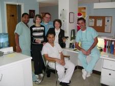 Quelques membres du personnel infirmier
