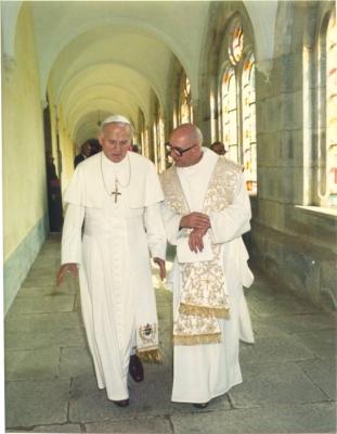 Visite du pape Jean-Paul II en octobre 1984