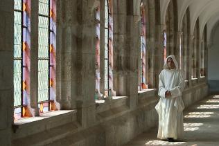Grand cloître qui relie les cellules monastiques