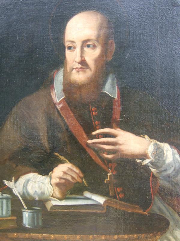 St. Francis de Sales painting