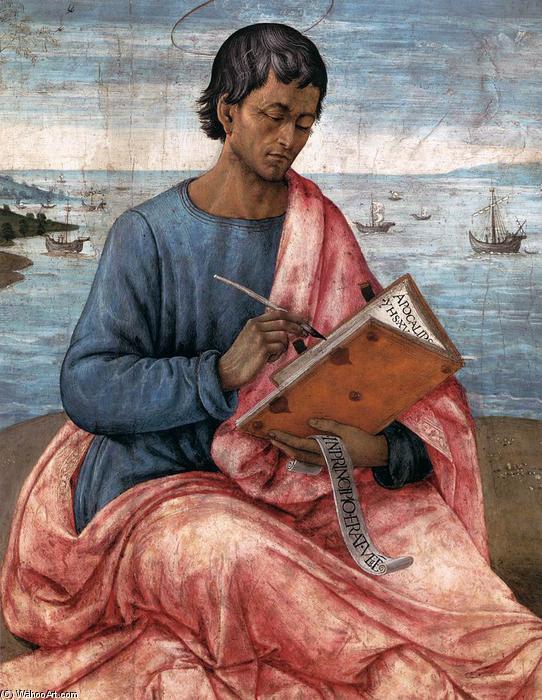 Domenico-Ghirlandaio-St-John-the-Evangelist-on-the-Island-of-Patmos-detail-2-